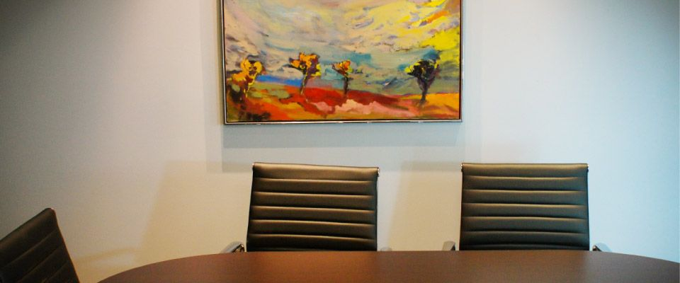 Artwork in our meeting room
